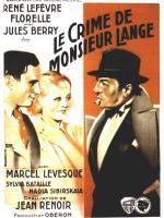 Le 25/03/2020 Le crime de M. Lange